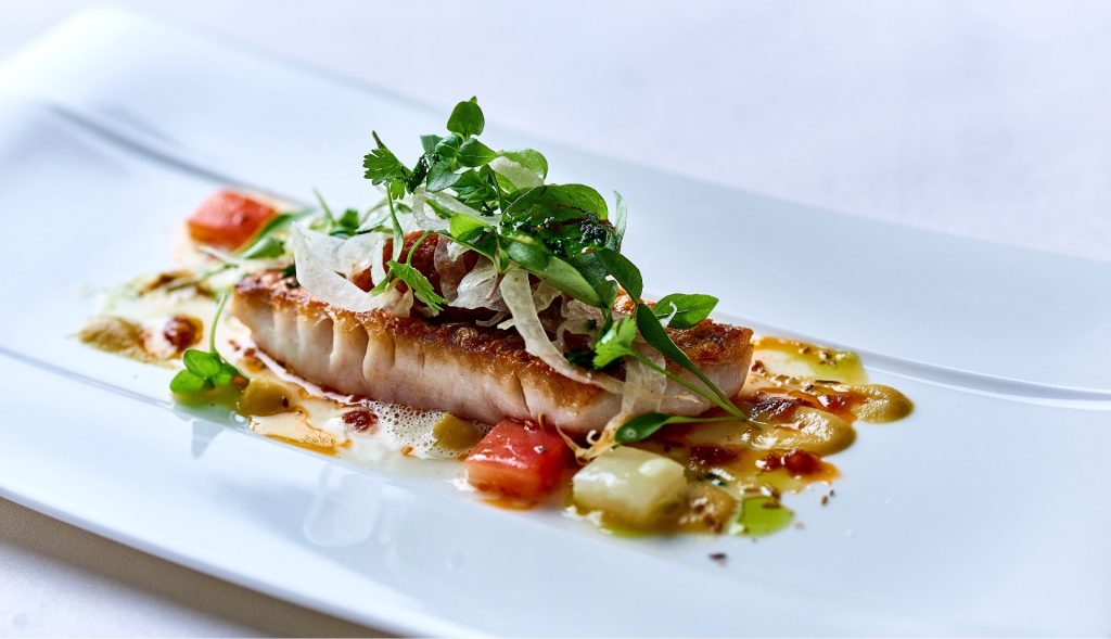 Dining at The Cove - Michael Caines